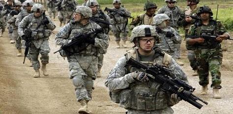 Büyük Şeytan Amerika Suriye-Irak sınırına 600 asker gönderdi