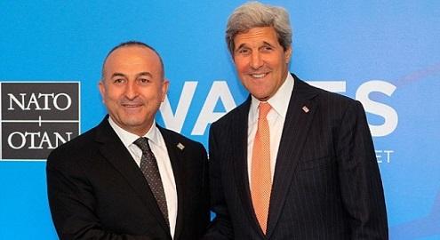 Mevlüt Çavuşoğlu, John Kerry ile telefonda görüştü.