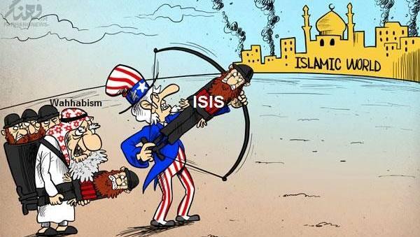 Karikatür – ABD, IŞİD ile İslam Dünyası'nı hedef alıyor