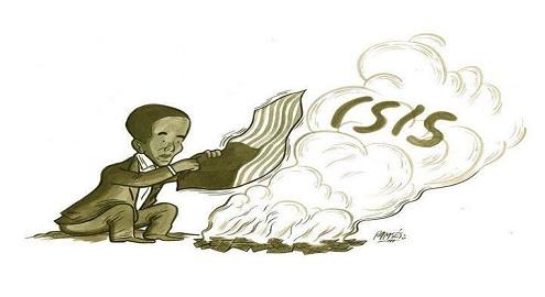 Karikatür – ABD, IŞİD'i desteklemeye devam ediyor