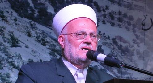 Şeyh İkrime Sabri'den Abbas yönetimine eleştri