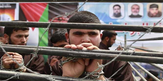 Siyonist vahşet! Filistinli esiri kör edip bıraktılar!