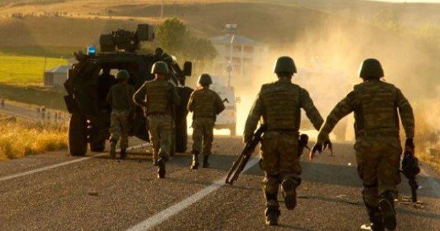 Van'da teröristlerle çatışma: 1 asker yaralandı, 1 terörist yakalandı