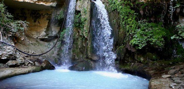 Pamuklu'da saklı cennet: Pembeli Şelalesi