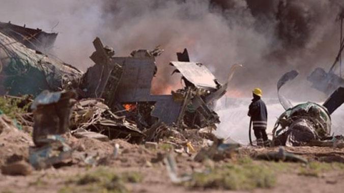 Cezayir'de Düşen Askeri Uçakta Ölenlerin Sayısı 257'ye Ulaştı