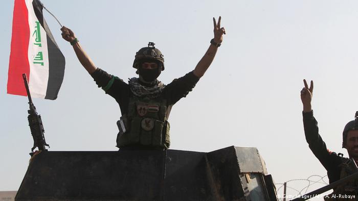 Irak ordusu PKK'dan Hansur sınır kapısını geri aldı