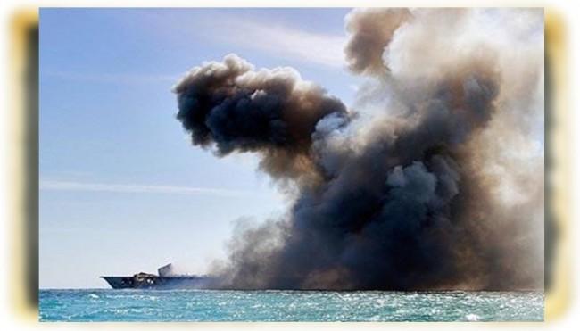 Ensarullah'tan Suudi rejimine ağır darbe! Petrol tankeri havaya uçuruldu