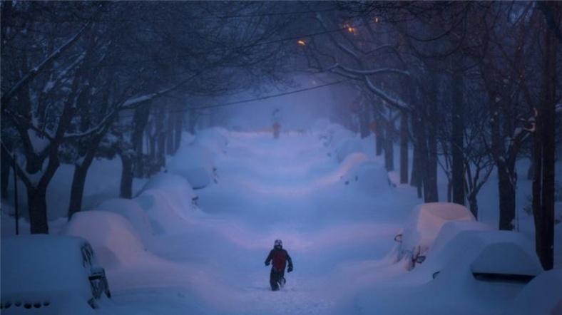 ABD'de kar ve fırtına nedeniyle 3 milyon kişi elektriksiz kaldı