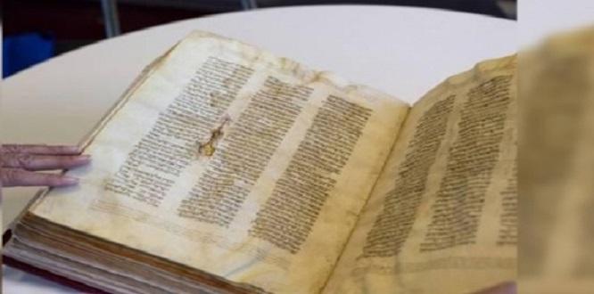 Muğla'da 700 yıllık altın yazmalı Tevrat ele geçirildi
