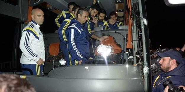 Fenerbahçe otobüsüne saldıranlar 1 yıldır bulunamadı