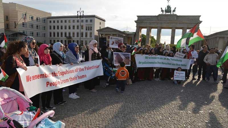 En-Nekbe'nin 68'inci yıldönümü Almanya'da kınandı