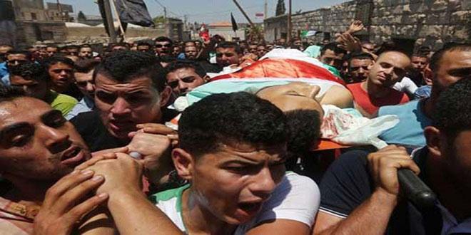 Batı Yaka'da Filistinlilere saldırı: 1 şehid, 11 yaralı