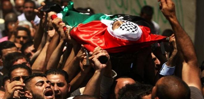 İşgal güçlerinin açtığı ateş sonucu bir Filistinli daha şehit oldu