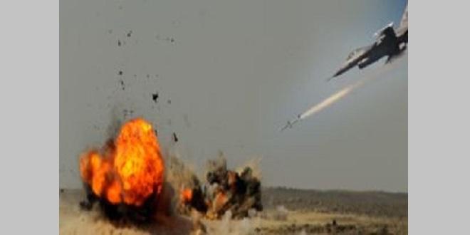 Terör örgütü DEAŞ'lı liderlerin toplantı yaptığı eve hava saldırısı! 45 terörist öldürüldü