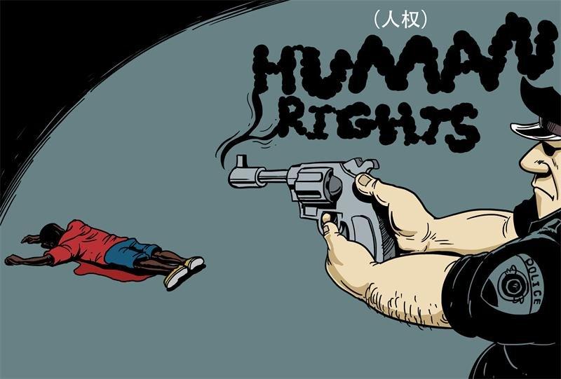 Karikatür – Amerika'da insan hakları anlayışı