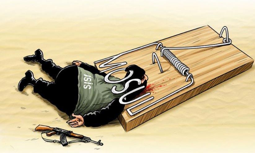 Karikatür – IŞİD, tuzağa düştü