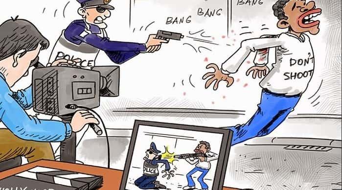 Karikatür – ABD basınının gerçek yüzü
