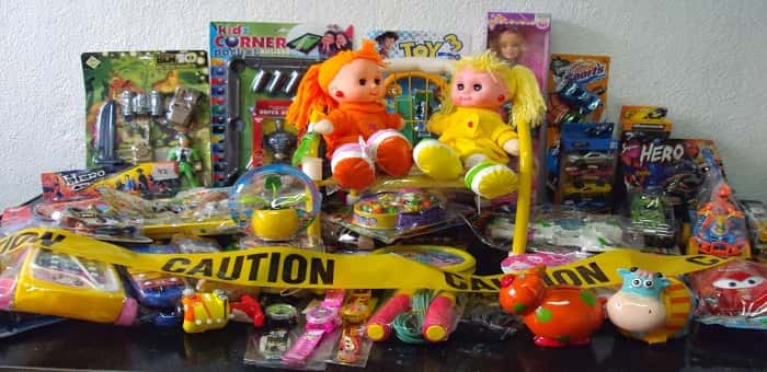 Tehlike içeren 4 milyon oyuncağa ithalat engeli