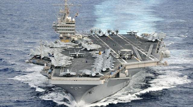 ABD uçak gemisi ve ona eşlik eden taarruz grubu operasyon başlattı iddiası