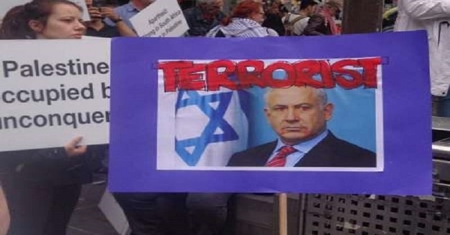Siyonist Netanyahu'ya Almanya'da soğuk duş