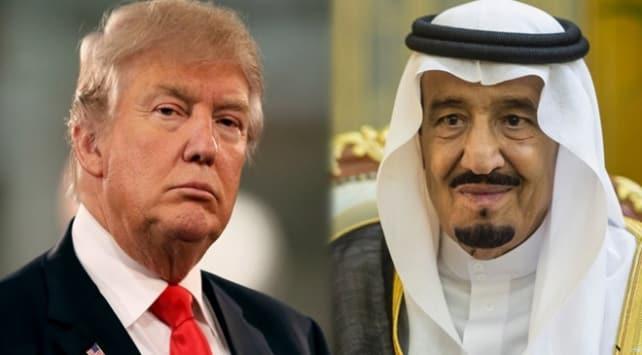 Trump: Ortadoğu projesinde Suudi Arabistan'a ihtiyacımız var