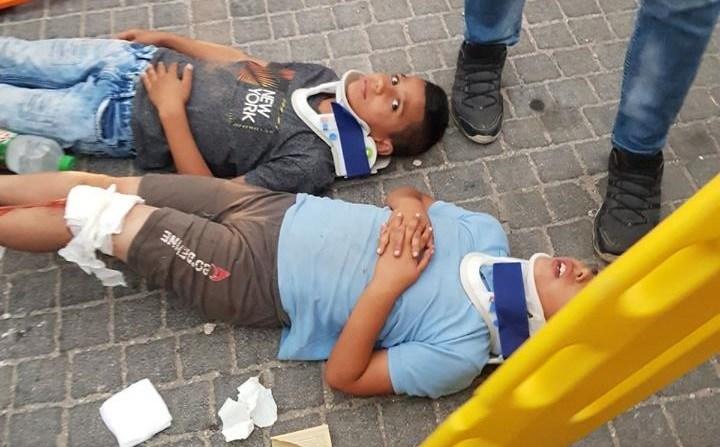 Gasıp ve katil İsrail 15 Yaşındaki Filistinli Çocuğu Şehit Etti