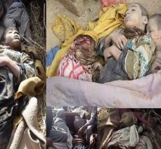 Suudi-Amerika, 22'si çocuk ve bebek olmak üzere 31 sivili katletti