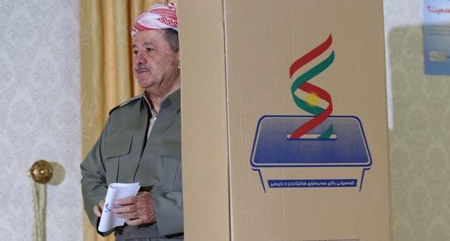 Barzani, İşgal Ettiği Havalimanlarını Bağdat'a Devrediliyor
