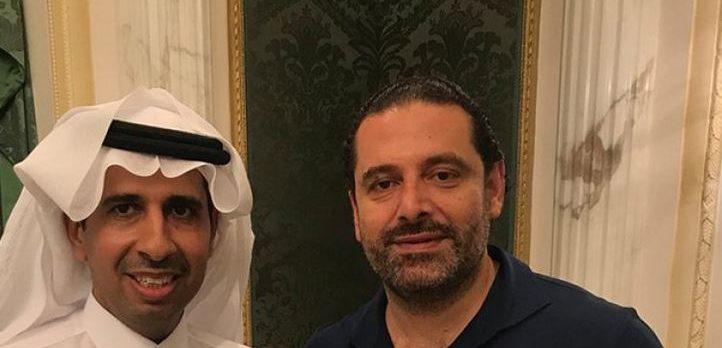 Saad Hariri, Suudi Veliaht Prensi Muhammed Bin Selman ile selfie çekti
