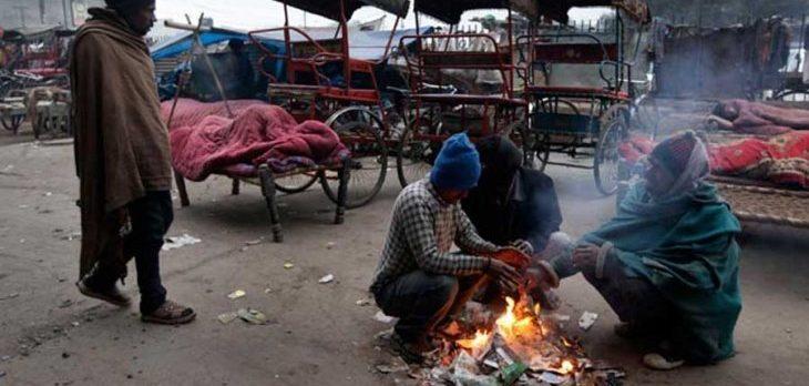 Hindistan'da dondurucu soğuklarda 187 kişi öldü