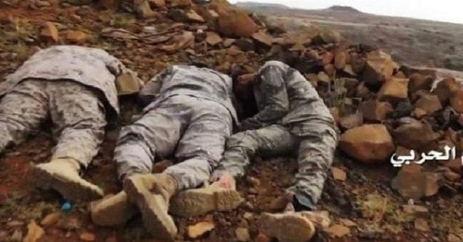 Yemenli güçler,Cizan'da Çok sayıda işgalci Suudi askerini öldürdü