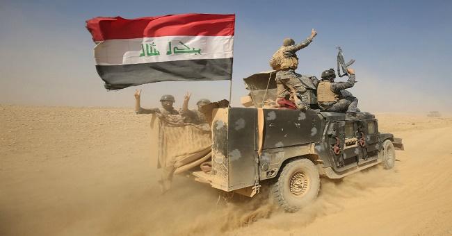 Irak polisi Afrin'deki teröristlere giden silahlara el koydu