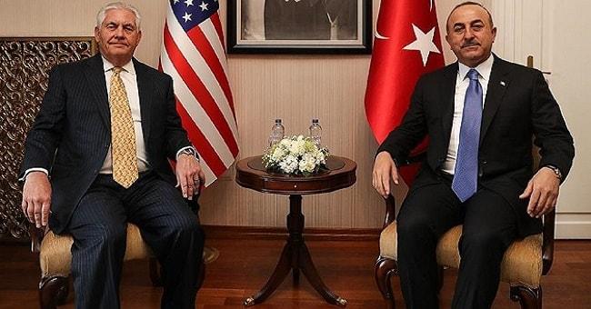 Dışişleri Bakanı Çavuşoğlu: ABD ile Münbiç ve Fırat'ın doğusu için mutabık kaldık..
