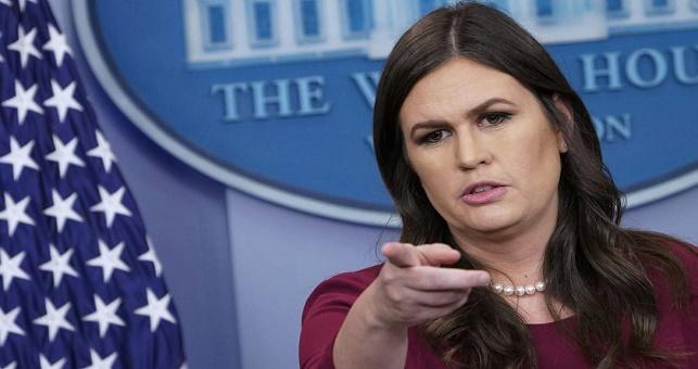 ABD sözcüsü Sarah Sanders: Esad'ı uyarıyoruz, saldırırız!