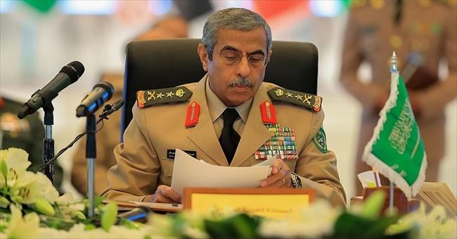 Suudi Arabistan Genelkurmay Başkanı görevden alındı