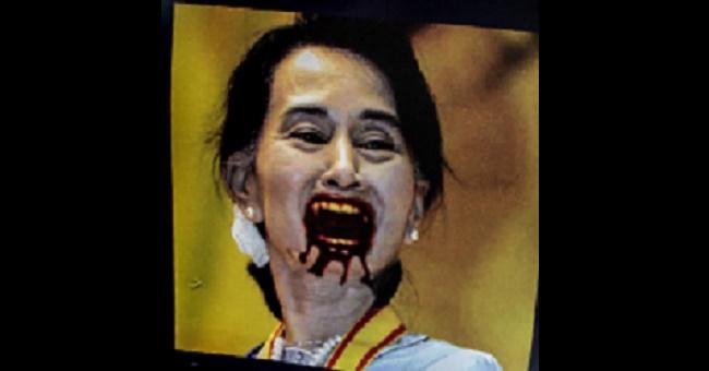 """Myanmar halkının katiline verilen """"Vicdan Elçisi"""" ödülü geri alındı"""