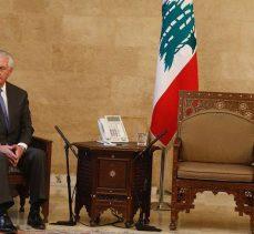 Tillerson büyük şok yaşadı! Lübnan hükümetini tebrik ederiz