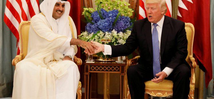 Trump'tan Katar emirine: Siz çok değerli bir müttefiksiniz