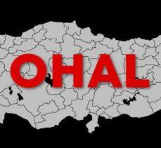 OHAL'in uzatılmasına ilişkin tezkere Meclis Başkanlığı'na sunuldu