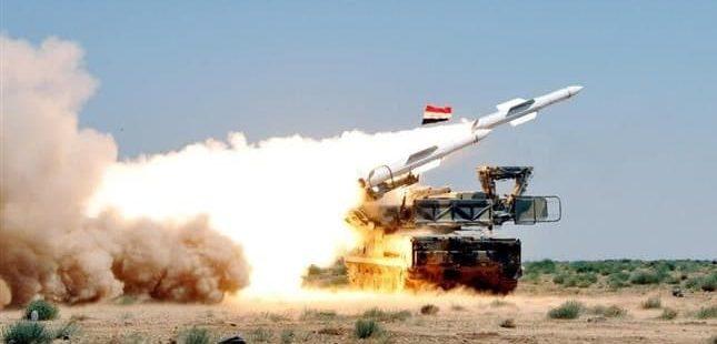 İşgalci israil, Şam'a Saldırdı; Suriye anında karşılık verdi