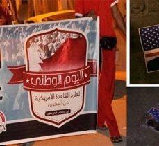 Bahreyn halkı, ülke yönetimini ve ABD'yi protesto etti