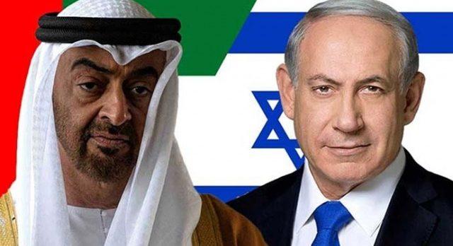 BAE'den büyük ihanet! israille beraber Gazze'yi bombaladılar