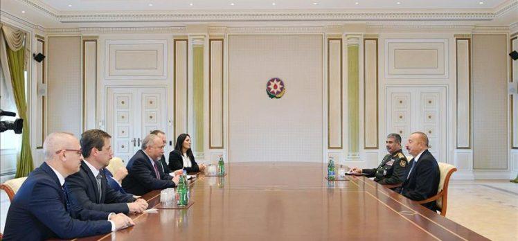 Azerbaycan Cumhurbaşkanı Aliyev, siyonist Liberman ile görüştü