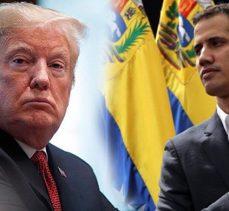 Amerikan uşağı Guaido; 'yabancı askeri müdahale' sorusuna olumsuz cevap vermedi