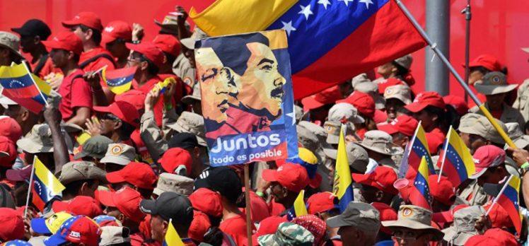 Venezüella'da Devrimcilerin Büyük Zafer Yürüyüşü