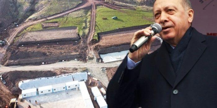 Erdoğan talimatı verdi: Yeni bir Cumhurbaşkanlığı Köşkü için Ahlat'ta inşaat çalışmaları başladı