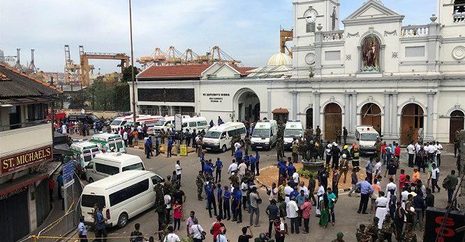Siyonistlerin bu seferki hedefi KİLİSE: Sri Lanka'da 3 kilise ve 3 otele saldırı düzenlendi